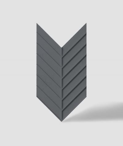 VT - PB45 (B8 antracyt) JODEŁKA - Panel dekor 3D beton architektoniczny