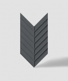 VT - PB45 (B15 czarny) JODEŁKA - Panel dekor 3D beton architektoniczny