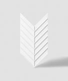 VT - PB45 (BS śnieżno biały) JODEŁKA - Panel dekor 3D beton architektoniczny