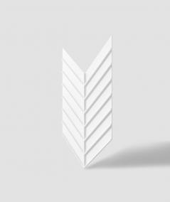 VT - PB45 (BS snow white) HERRINGBONE - 3D decorative panel architectural concrete