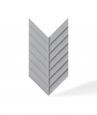VT - PB45 (S96 ciemny szary) JODEŁKA - Panel dekor 3D beton architektoniczny