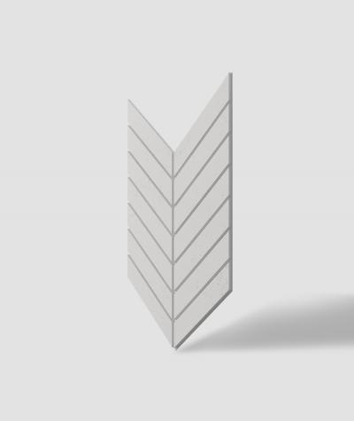 VT - PB44 (B0 biały) JODEŁKA - Panel dekor 3D beton architektoniczny
