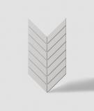 VT - PB44 (B1 siwo biały) JODEŁKA - Panel dekor 3D beton architektoniczny