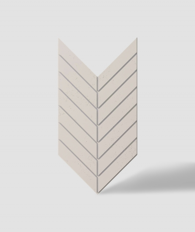 VT - PB44 (KS ivory) HERRINGBONE - 3D decorative panel architectural concrete