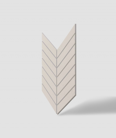 VT - PB44 (KS kość słoniowa) JODEŁKA - Panel dekor 3D beton architektoniczny