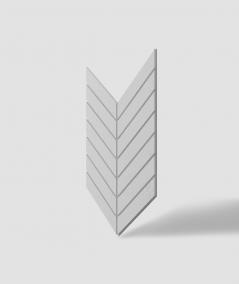 VT - PB44 (S50 jasno szary - mysi) JODEŁKA - Panel dekor 3D beton architektoniczny