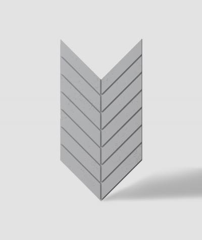 VT - PB44 (S96 ciemny szary) JODEŁKA - Panel dekor 3D beton architektoniczny