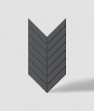 VT - PB44 (B15 czarny) JODEŁKA - Panel dekor 3D beton architektoniczny