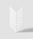 VT - PB44 (BS śnieżno biały) JODEŁKA - Panel dekor 3D beton architektoniczny