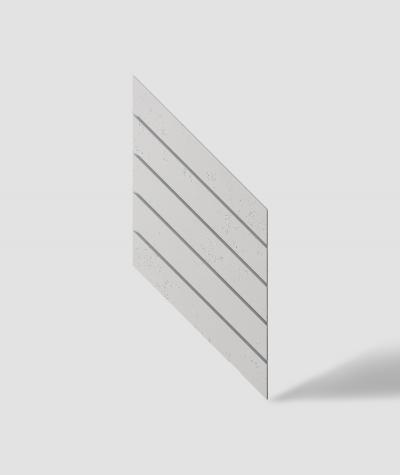 VT - PB43 (B0 biały) JODEŁKA - Panel dekor 3D beton architektoniczny