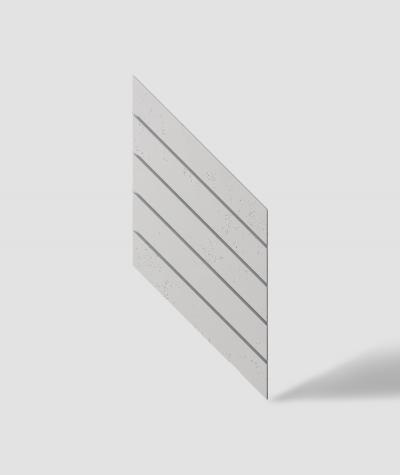 VT - PB43 (B1 siwo biały) JODEŁKA - Panel dekor 3D beton architektoniczny
