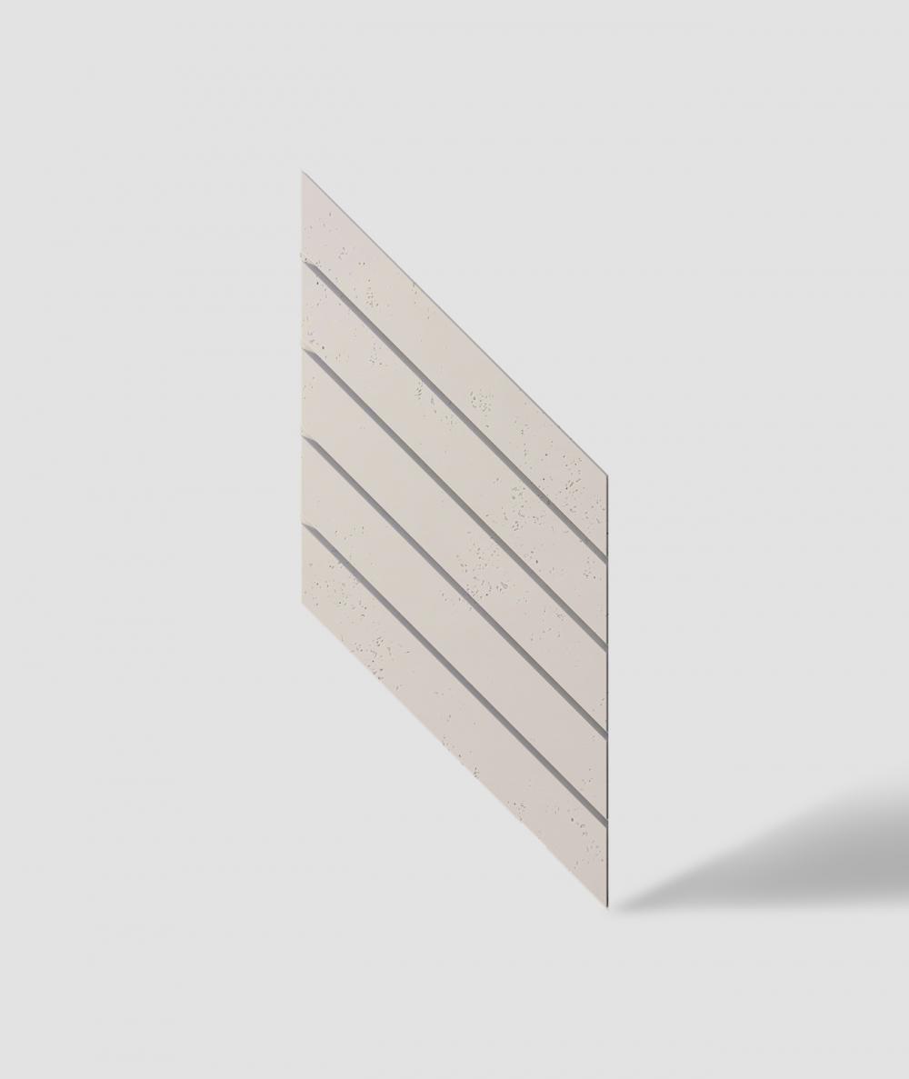VT - PB43 (KS kość słoniowa) JODEŁKA - Panel dekor 3D beton architektoniczny