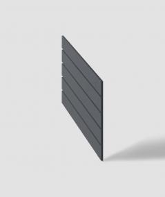 VT - PB43 (B8 anthracite) HERRINGBONE - 3D decorative panel architectural concrete