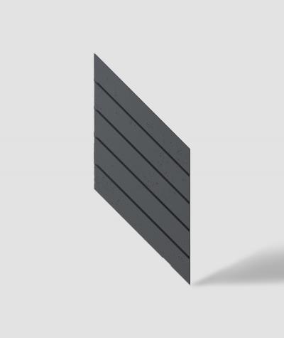 VT - PB43 (B15 black) HERRINGBONE - 3D decorative panel architectural concrete