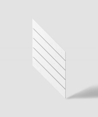 VT - PB43 (BS śnieżno biały) JODEŁKA - Panel dekor 3D beton architektoniczny