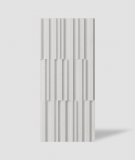 VT - PB42 (B0 biały) LAMEL - Panel dekor 3D beton architektoniczny