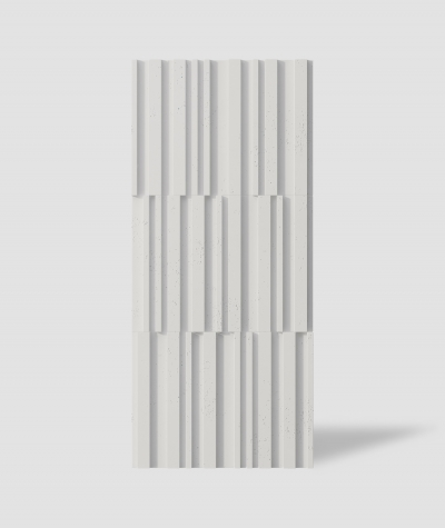 VT - PB42 (B0 white) LAMEL - 3D decorative panel architectural concrete