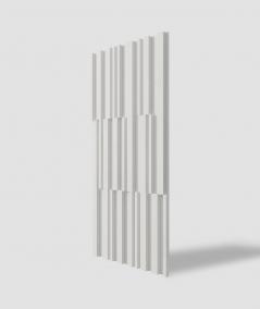 VT - PB42 (B0 white) LAMEL - 3D decorative panel architectural concrete