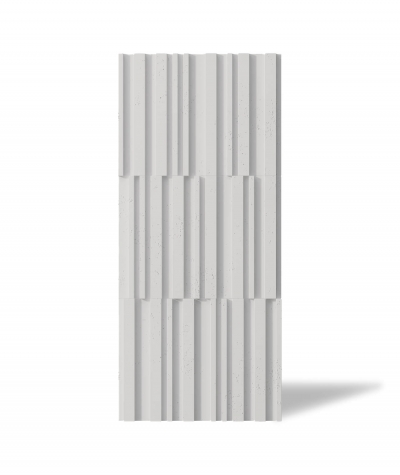 VT - PB42 (B1 gray white) LAMEL - 3D decorative panel architectural concrete