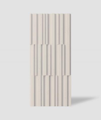 VT - PB42 (KS kość słoniowa) LAMEL - Panel dekor 3D beton architektoniczny