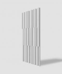 VT - PB42 (S50 jasno szary - mysi) LAMEL - Panel dekor 3D beton architektoniczny