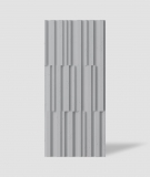 VT - PB42 (S96 ciemny szary) LAMEL - Panel dekor 3D beton architektoniczny