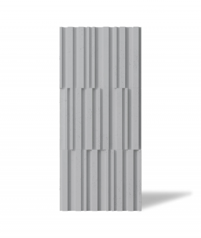 VT - PB42 (S96 dark gray) LAMEL - 3D decorative panel architectural concrete