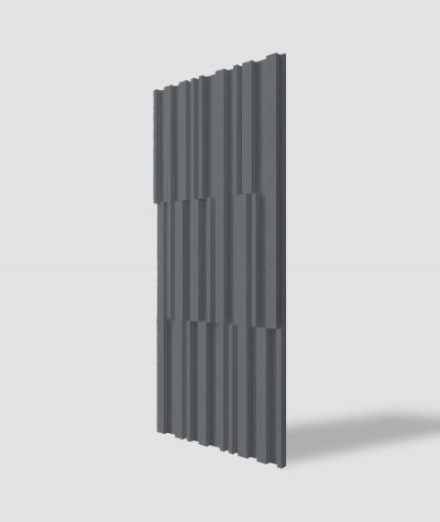 VT - PB42 (B8 antracyt) LAMEL - Panel dekor 3D beton architektoniczny