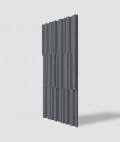 VT - PB42 (B8 anthracite) LAMEL - 3D decorative panel architectural concrete