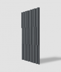 VT - PB42 (B15 black) LAMEL - 3D decorative panel architectural concrete