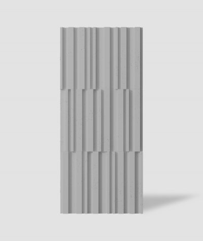VT - PB42 (S51 dark gray - mouse) LAMEL - 3D decorative panel architectural concrete