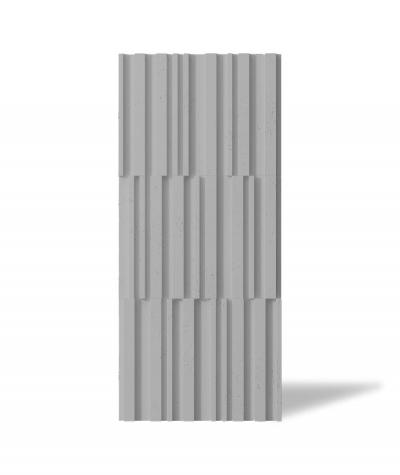VT - PB42 (S51 ciemno szary - mysi) LAMEL - Panel dekor 3D beton architektoniczny