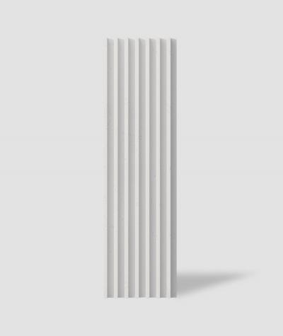 VT - PB41 (B1 siwo biały) LAMEL - Panel dekor 3D beton architektoniczny