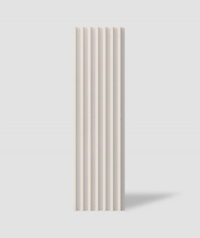 VT - PB41 (KS ivory) LAMEL - 3D architectural concrete panel
