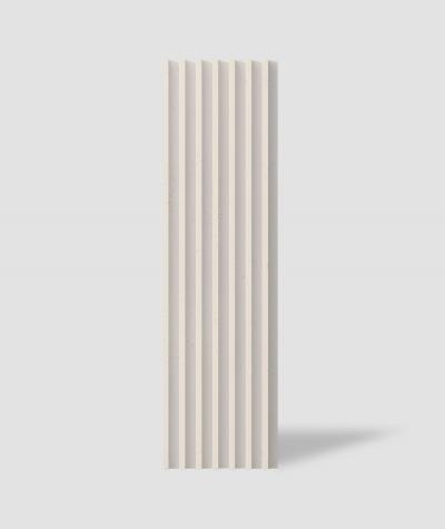 VT - PB41 (KS kość słoniowa) LAMEL - Panel dekor 3D beton architektoniczny