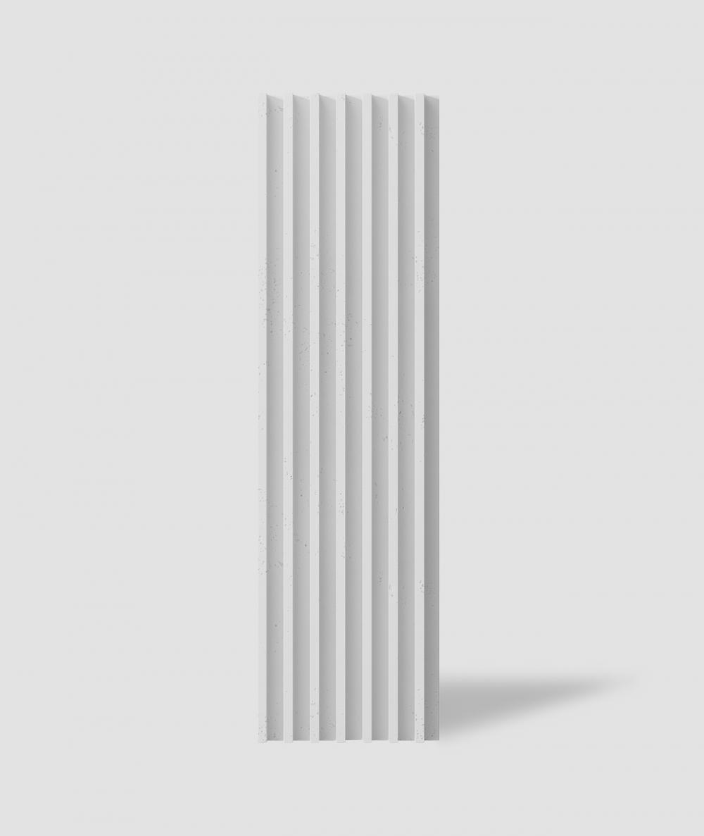 VT - PB41 (S50 jasno szary - mysi) LAMEL - Panel dekor 3D beton architektoniczny