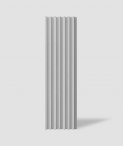VT - PB41 (S95 light gray - dove) LAMEL - 3D architectural concrete panel