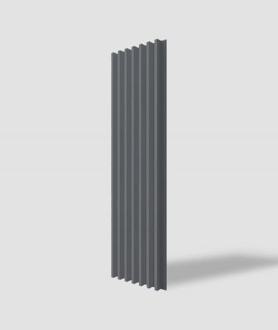 VT - PB41 (B8 antracyt) LAMEL - Panel dekor 3D beton architektoniczny