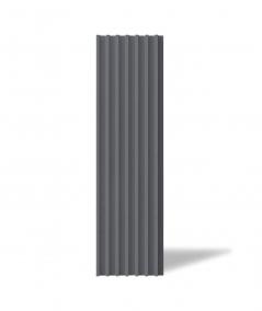 VT - PB41 (B8 anthracite) LAMEL - 3D architectural concrete panel