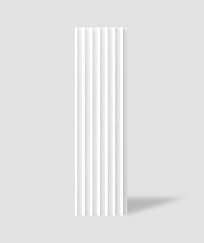 VT - PB41 (BS snow white) LAMEL - 3D architectural concrete panel