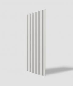 VT - PB40 (B0 biały) LAMEL - Panel dekor 3D beton architektoniczny