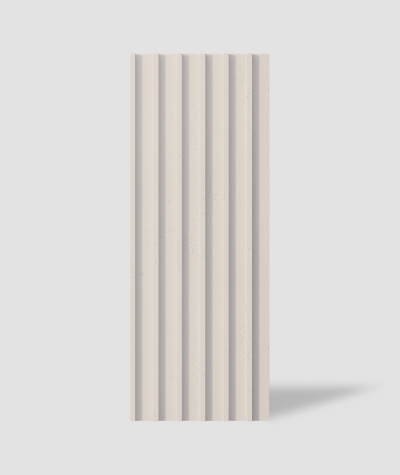 VT - PB40 (KS ivory) LAMEL - 3D architectural concrete panel