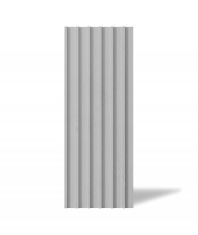 VT - PB40 (S95 light gray - dove) LAMEL - 3D architectural concrete panel
