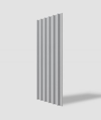 VT - PB40 (S96 dark gray) LAMEL - 3D architectural concrete panel