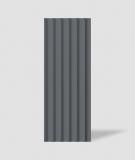 VT - PB40 (B8 antracyt) LAMEL - Panel dekor 3D beton architektoniczny