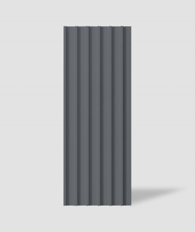 VT - PB40 (B8 anthracite) LAMEL - 3D architectural concrete panel