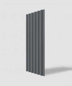 VT - PB40 (B8 anthracite) LAMEL - 3D architectural concrete panel