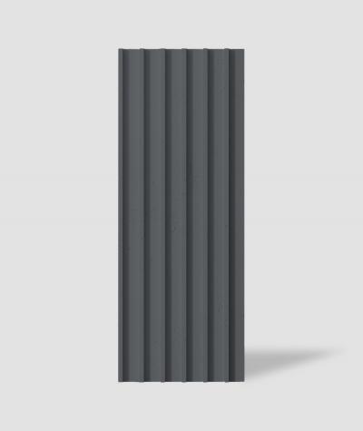 VT - PB40 (B15 black) LAMEL - 3D architectural concrete panel
