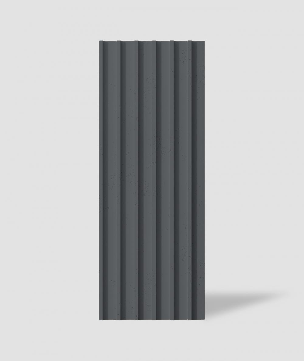 VT - PB40 (B15 czarny) LAMEL - Panel dekor 3D beton architektoniczny