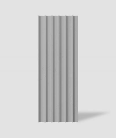 VT - PB40 (S51 dark gray - mouse) LAMEL - 3D architectural concrete panel